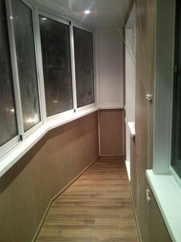 Отделка балконов внутри п44т. - оригинальные балконы - катал.